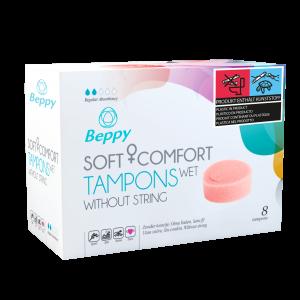Beppy Soft + Comfort Tampons WET (8 stuks)