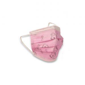 Kinder mondkapje, roze (50 stuks)